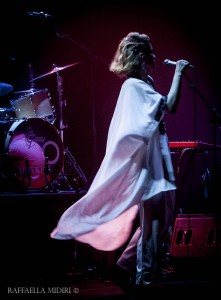 Ane Brun live all'Auditorium Parco della musica.
